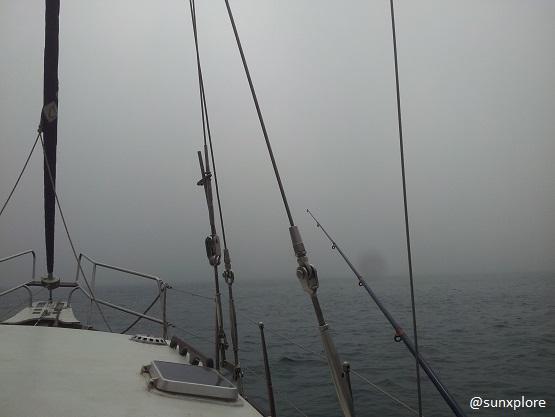 Brouillard en mer