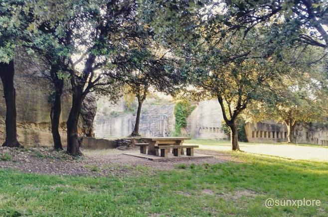 le rucher de Montagnac - un lieu de promenade insolite