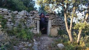 Un Mazet en bordure du chemin de randonnée