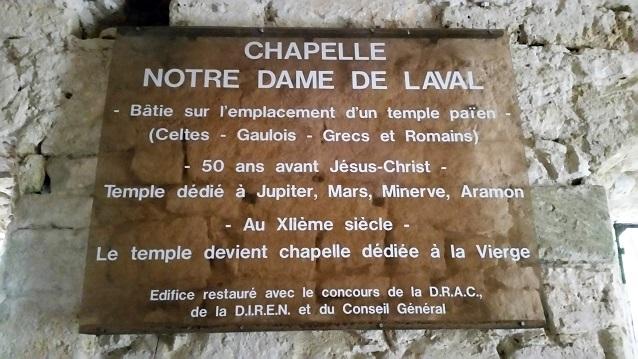 La chapelle Notre Dame De Laval - Une randonnée à Collias