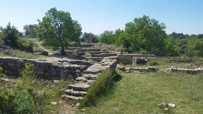 Le camp de César, l'opidum du gard