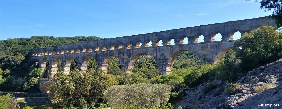 Une balade au Pont Du Gard, un aqueduc romain de plus de deux milles ans