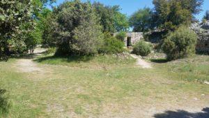 Une construction sur le camp de césar à laudun