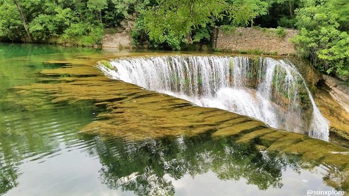 Les cascades de la vis entre le Gard et l'Herault