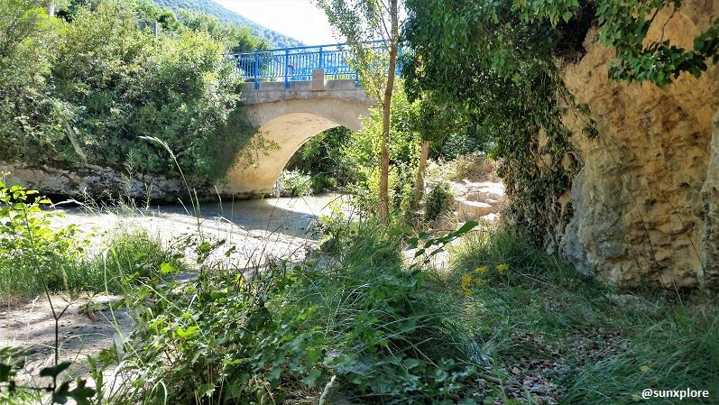 Le pont du Toulourenc - entre Drôme et Vaucluse