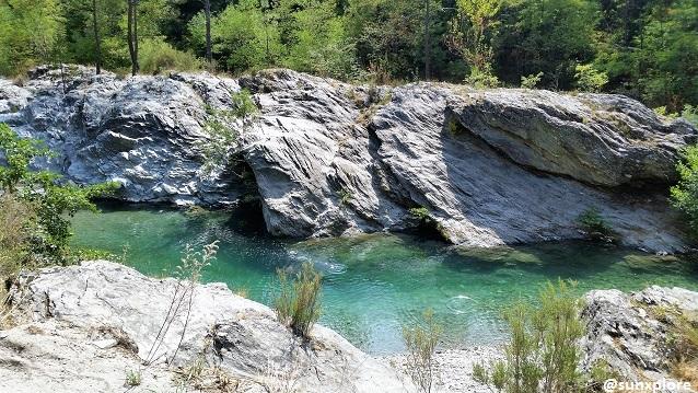Un coin de baignade au cœur du parc national des Cévennes