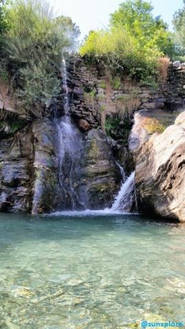 Une des cascades de Saint-Etienne-Vallée-Française