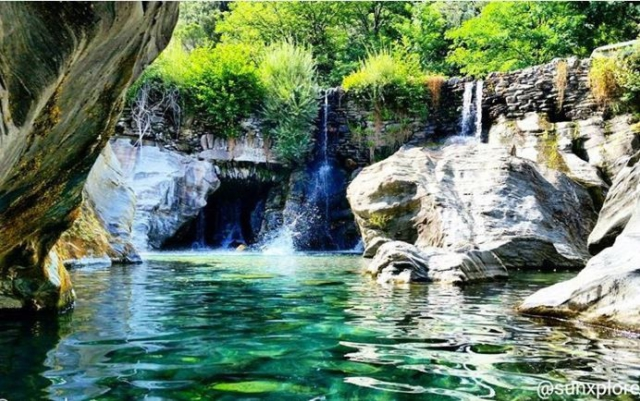 Les Cascades du Gardon entre Gard et Lozère