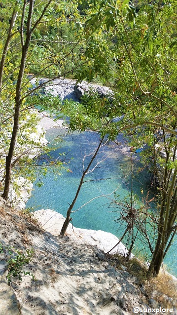 Se baigner en Lozère, dans une eau claire