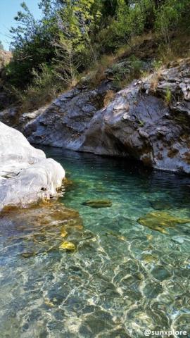 Un coin de baignade entre Gard et Lozère