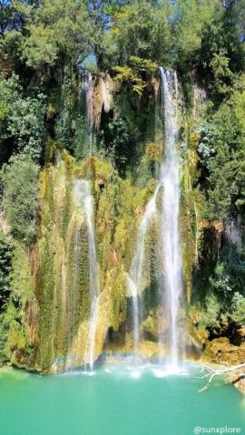 La cascade de Sillans et une merveille de la nature à découvrir à proximité d'Aups dans le Var