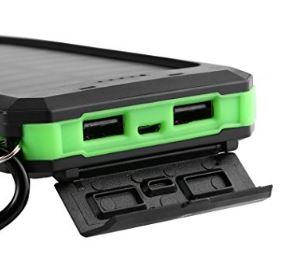 chargeur portable solaire de 30000 mah avec deux sortie USB