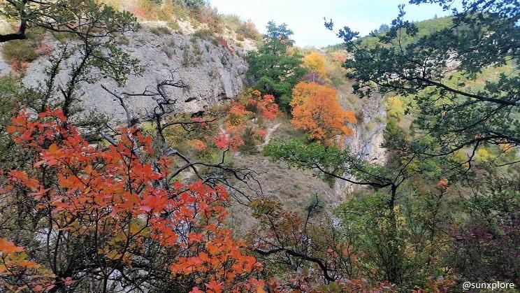 Les couleurs de l'automne dans le Vercors