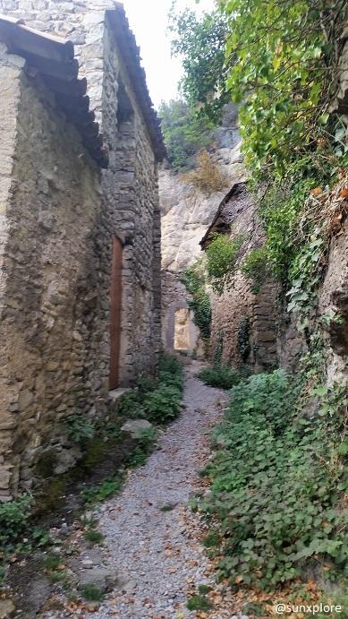 Calade de la cascade à Pontaix - une randonnée dans la drôme
