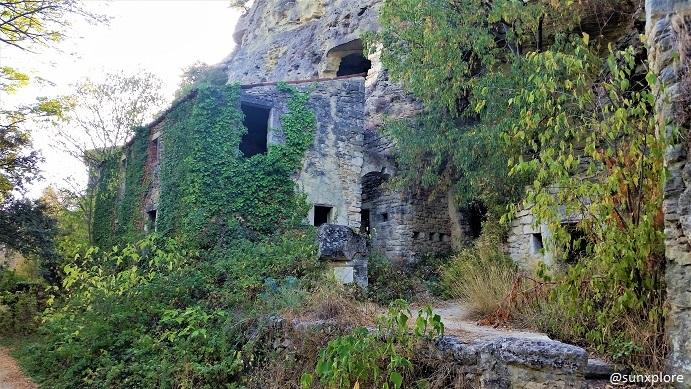 Un village fantôme dans le Vaucluse