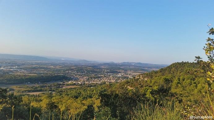 Un paysage dominant sur la Drôme