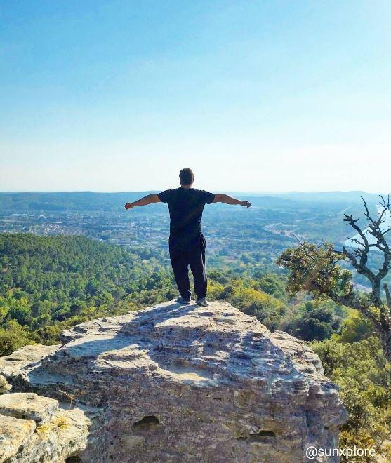 La vallée du Rhône, l'occasion de prendre un bol d'air frais dans le Vaucluse