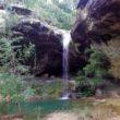 Une cascade presque secrète au cœur de l'Ardèche