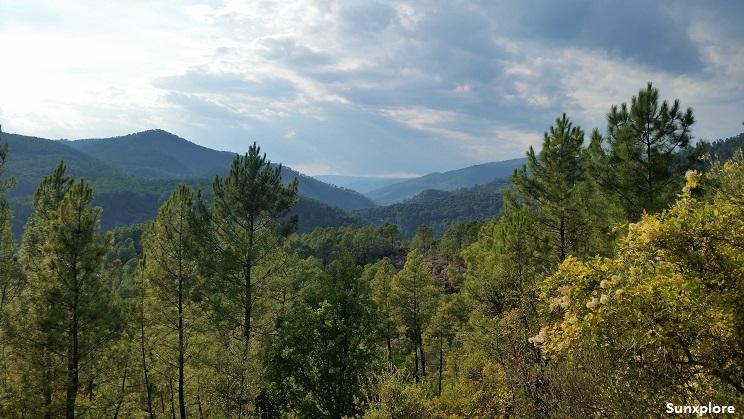 Les Monts d'Ardèche, un paysage plein naturel