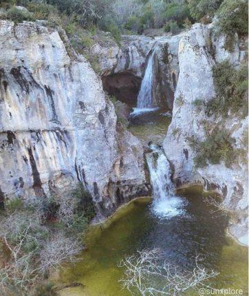 Une des plus belles cascade d'Ardèche