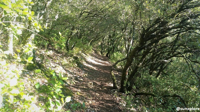Un chemin de randonné insolite en Ardèche