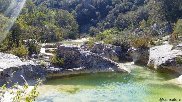 Un des meilleurs coin de baignade dans le Gard