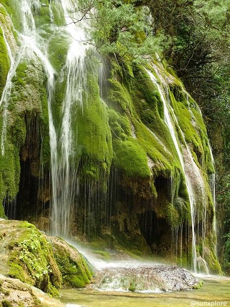 La plus belle cascade de la région Rhône Alpes : La cascade verte