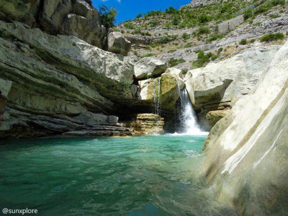 Un des meilleurs coins de baignade dans les Hautes-Alpes
