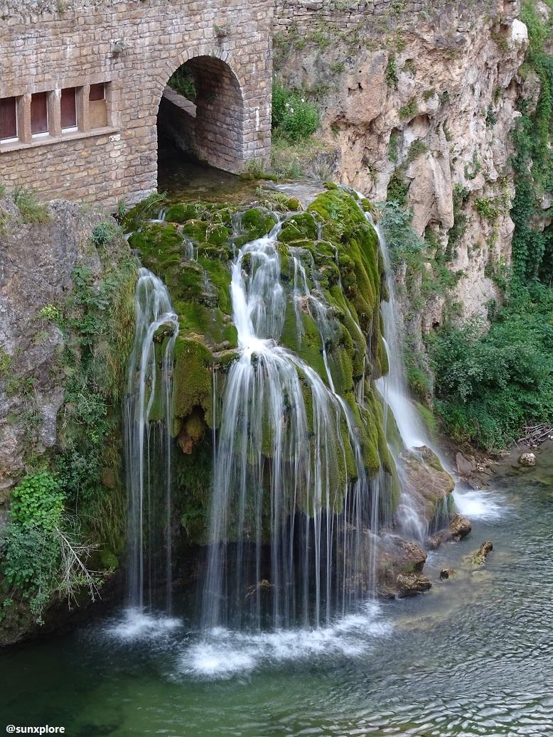 Probablement une des plus belles cascade de Lozère : la cascade de Saint-Chély-Du-Tarn