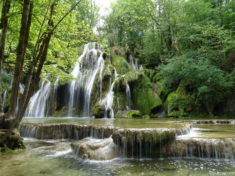 Les cascades des tufs et les premières vasques
