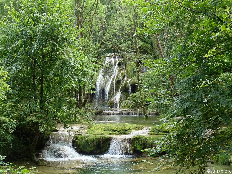 Randonnée aux cascades des tufs dans le Jura